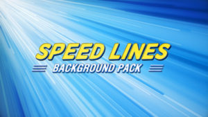 Speed lines animated background 01