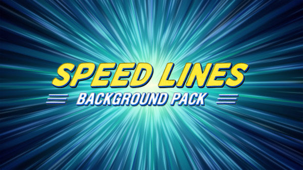 Speed lines animated background 03