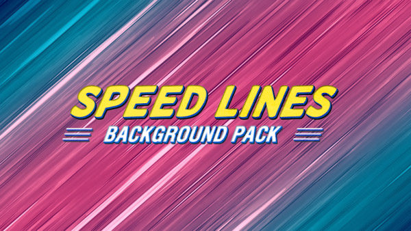 Speed lines animated background 04