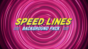 Speed lines animated background 05