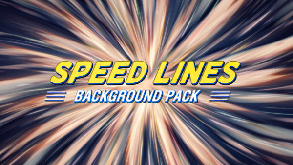 Speed lines animated background 06