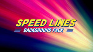 Speed lines animated background 07