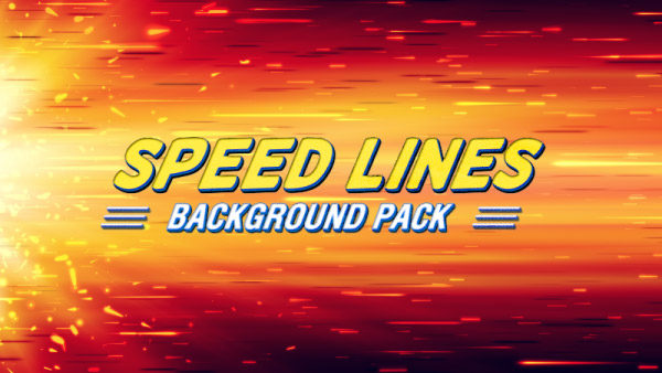 Speed lines animated background 09