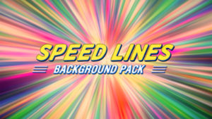 Speed lines animated background 10