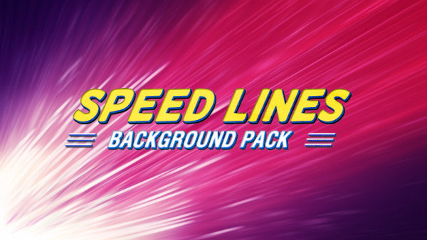 Speed lines animated background 11