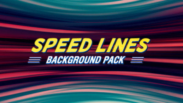 Speed lines animated background 12