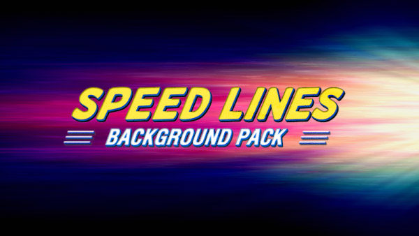 Speed lines animated background 13