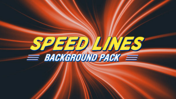 Speed lines animated background 14