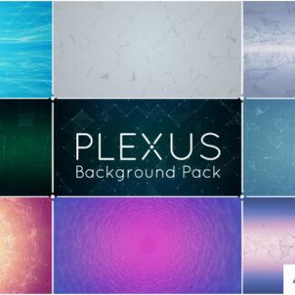 9 animated plexus backgrounds