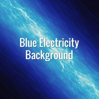 Bright seamlessly looping fast-moving electrical lines on a blue background.