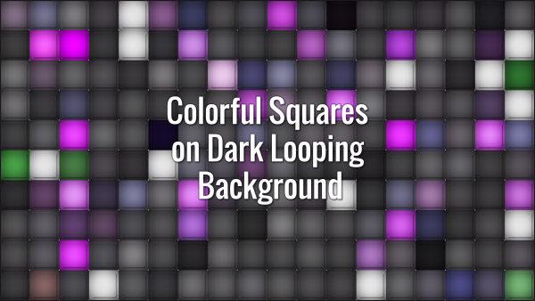 Flickering square grid.