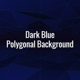 Seamlessly loopable rotating dark polygons