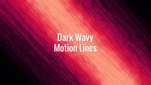 Curly seamlessly looping black diagonal lines on the red background.