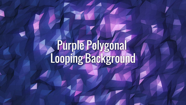 Flowing violet triangular grid.