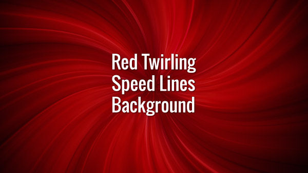Abstract seamlessly looping red curly lines