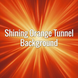 Orange seamlessly looping burst with fast-moving rays