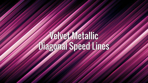 Violet motion lines moving diagonally