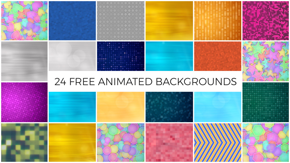 24 Free Animated Backgrounds