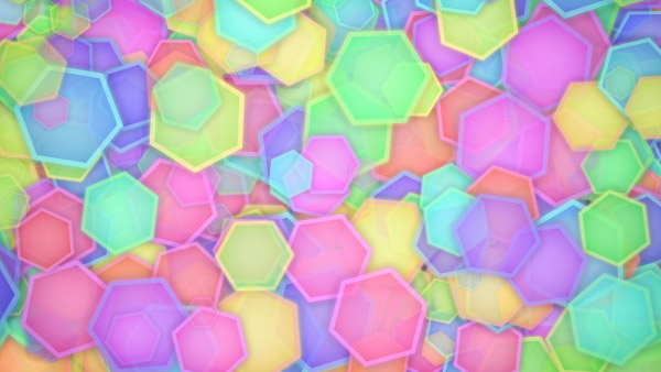 Hexagons Animated Background