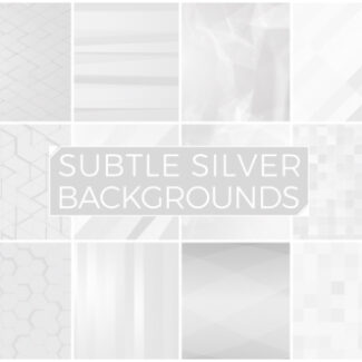 Subtle Silver Background Pack