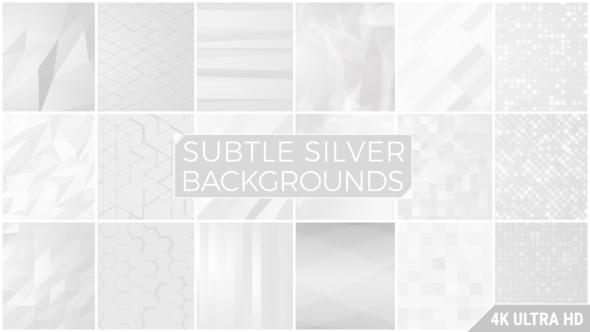 Subtle Silver Background Pack