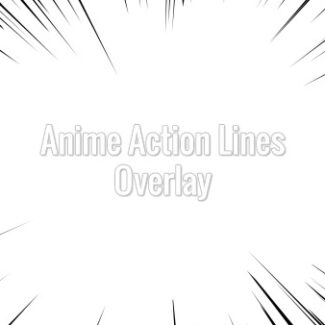 Anime Action Lines Background