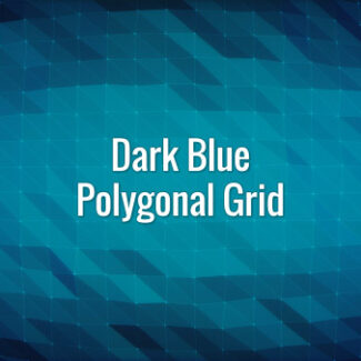 Seamlessly looping animated dark blue polygonal grid.