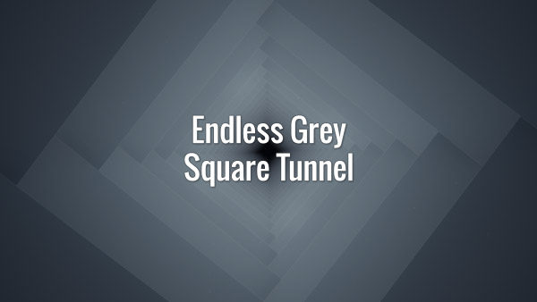 Seamlessly loopable grey square endless animated background.