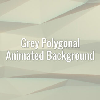 Seamlessly loopable animated silver polygonal triangles.