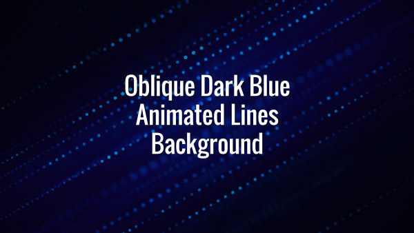 Seamlessly looping animated dark blue particular lines.