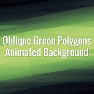 Seamlessly loopable animated green triangles.