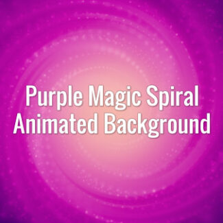 Seamlessly looping animated dark violet tunnel with spirally moving particles.