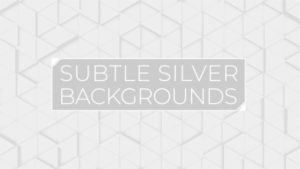 Animated Subtle Silver Background Pack 05