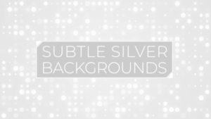 Animated Subtle Silver Background Pack 16