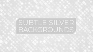 Animated Subtle Silver Background Pack 17