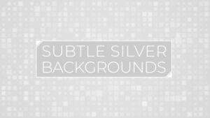 Animated Subtle Silver Background Pack 18