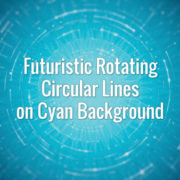 Hi-tech seamlessly looping rotating scheme lines backdrop