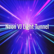 Seamlessly looping fast-moving blue and violet tunnel backdrop