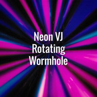 Neon VJ Rotating Wormhole