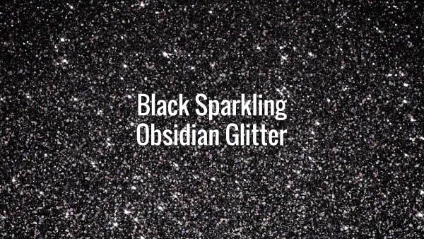 Seamlessly looping shiny black particles. Animated background.