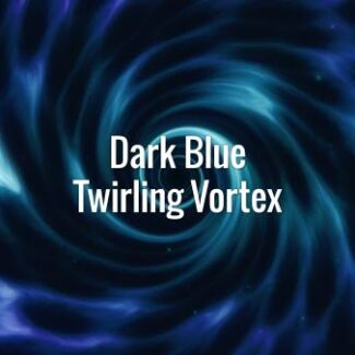 Dark Blue Twirling Vortex