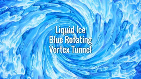 Seamlessly looping liquid swirling spiral splash. Animated background.