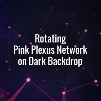 Seamlessly looping pink lines, triangles and particles. Animated background.