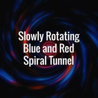 Seamlessly looping blue and red swirling tunnel. Animated background.
