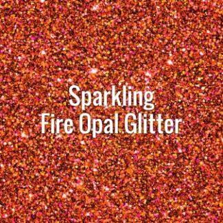 Sparkling Fire Opal Glitter