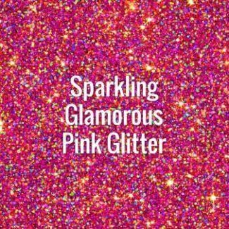 Sparkling Glamorous Pink Glitter