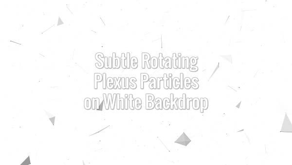 Seamlessly looping grey lines, triangles and particles. Animated background.