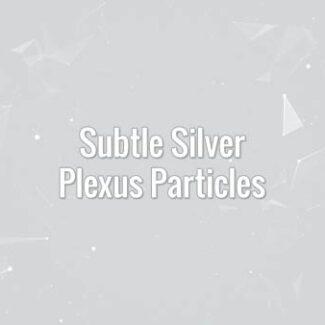 Subtle Silver Plexus Particles