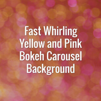Seamlessly looping rotating flickering yellow and pink glitter particles carousel.
