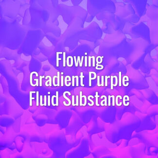 Seamlessly looping flowing blue and violet liquid blobs. Animated background.
